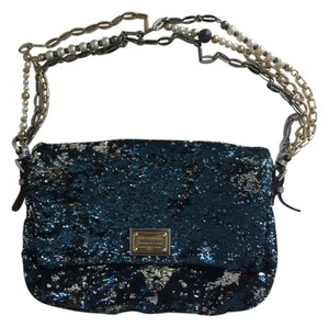 Dolce&Gabbana Sequence Pearl Chain Shoulder Bag