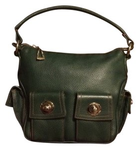 BCBGMAXAZRIA Satchel in Evergreen