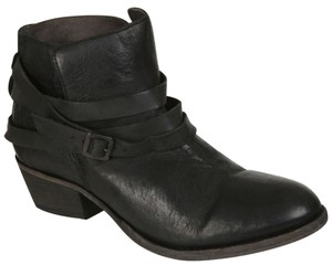 H by Hudson Leather Noir Boots