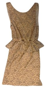 Everly short dress Gold on Tradesy