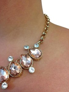 Isis Pink Crystal Necklace
