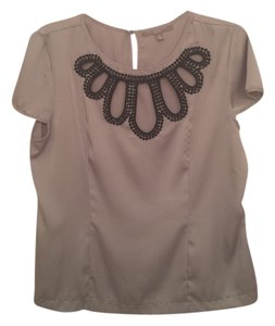 NY Collection Top Gray