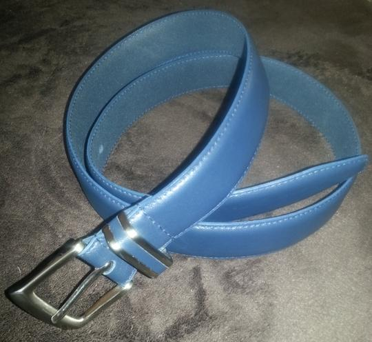 Thom McAn Navy blue Leather Belt