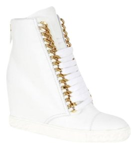 Casadei White /Gold Athletic