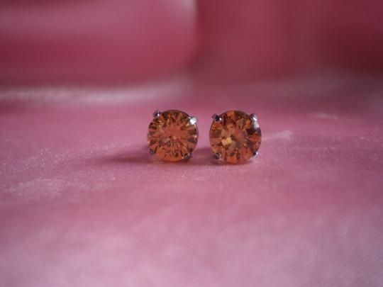 Other New simulated diamond stud earrings in stainless steel