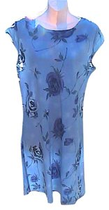 Other short dress Floral Blue Preowned Floral on Tradesy