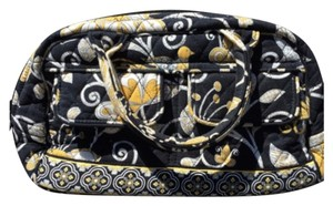 Vera Bradley Satchel in Black And Yellow
