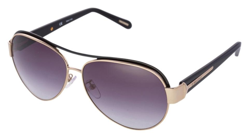 01744ad42129 Givenchy NEW GIVENCHY Luxury Women and Men Black High-Fashion Aviators  Sunglasses Image 0 ...