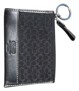 Coach Signature Coach Mini Wallet