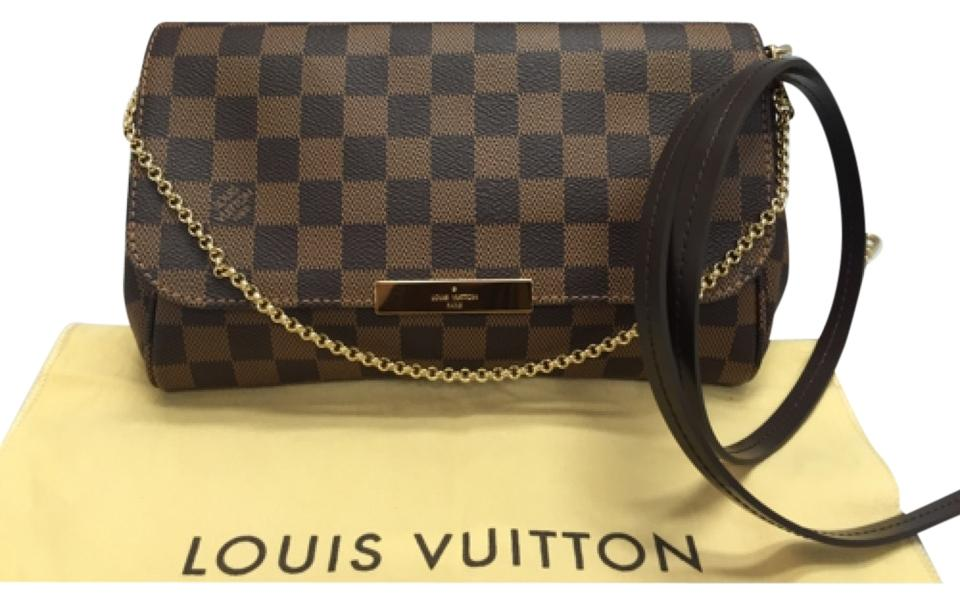 35b6f1ef425 Louis Vuitton Favorite Mm Damier Ebene. New No Wear Comes with Strap and  Dustbag. Made In France. Date Code Du0125 Cross Body Bag