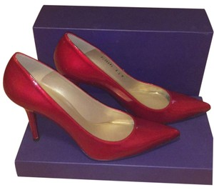 Stuart Weitzman Patent Leather Red New With Box Red quasar Pumps