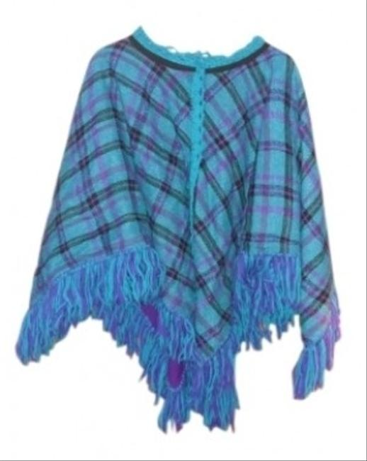 Preload https://item1.tradesy.com/images/handmade-vintage-plaid-poncho-cape-96855-0-0.jpg?width=400&height=650