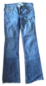 See Thru Soul Boot Cut Jeans-Medium Wash