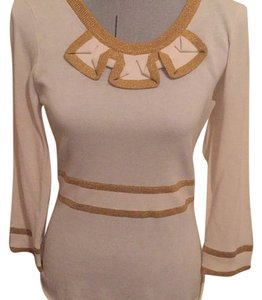 Marc Jacobs Top Gold/cream