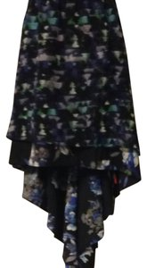 Kirna Zabete Skirt Black Multi