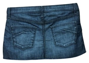 James Jeans Mini Denim Mini Skirt Blue