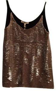 Maje Top Black and Gold