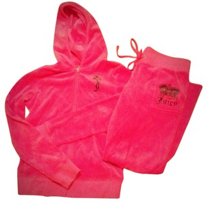 Juicy Couture Juicy Couture Pink Velour Outfit