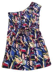 Forever 21 short dress Navi multi 21 on Tradesy
