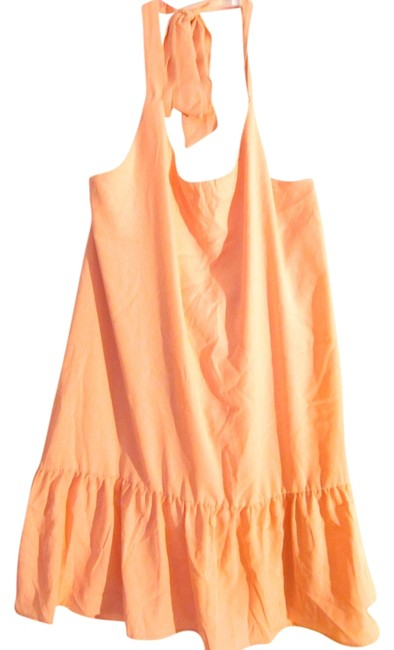 Item - Coral Above Knee Short Casual Dress Size 12 (L)