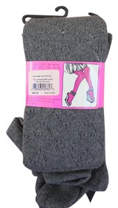 Betsey Johnson Betsy Johnson Cashmere Blend Gray Tights New With Tags!