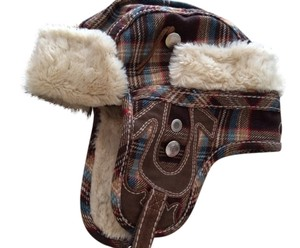 True Religion True Religion Faux fur lined Hat with ear flaps