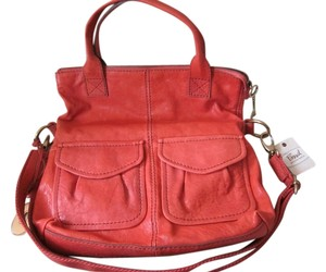 Fossil Tote in RASPBERRY
