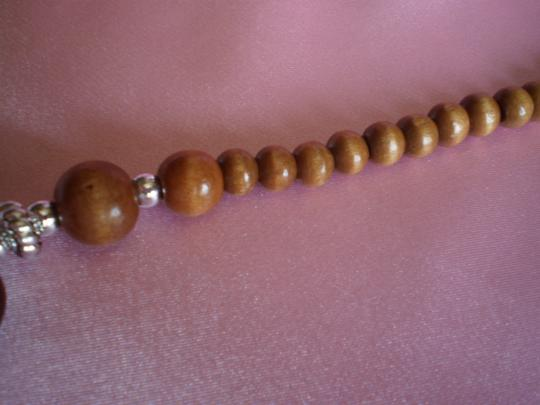 Other Wood and Acrylic Necklace