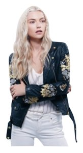DOMA Blk Leather Jacket