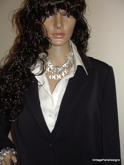 Other Lucite Cluster Neck Chain & Bracelet by Sequin