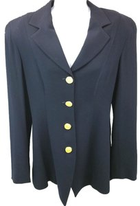 Donna Karan Wool Jacket BLACK Blazer