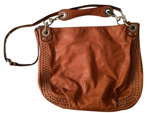 Rebecca Minkoff Leather Studded Hobo Bag