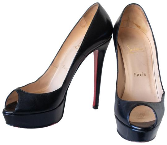 Preload https://img-static.tradesy.com/item/969398/christian-louboutin-black-banana-leather-pumps-size-eu-37-approx-us-7-regular-m-b-0-2-540-540.jpg