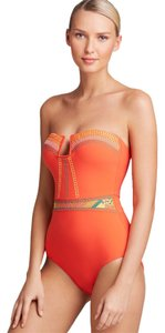 Nanette Lepore Mayan Riviera Goddess One Piece Swimsuit