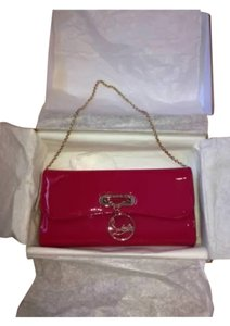 Christian Louboutin Hot Pink Clutch