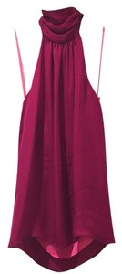 Alice + Olivia Top Cranberry