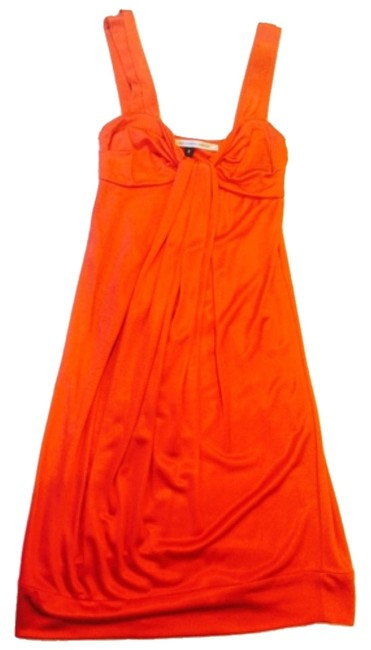 Item - Orange Rn 84177 Above Knee Night Out Dress Size 2 (XS)