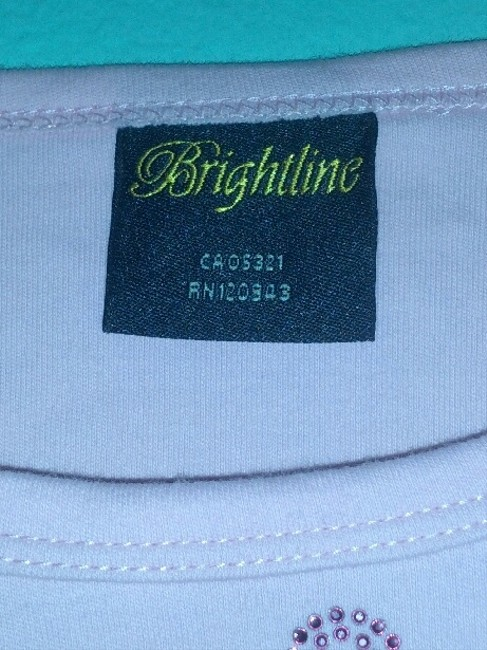 Brightline T Shirt Pink