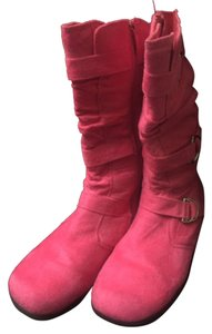 Max & Co. Pink with silver buckles Boots