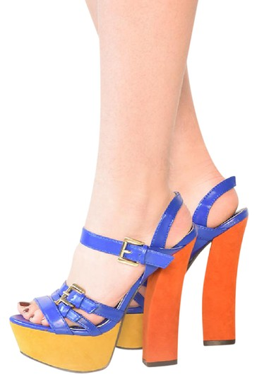 Preload https://item2.tradesy.com/images/liliana-blue-multi-sandals-size-us-75-969601-0-2.jpg?width=440&height=440