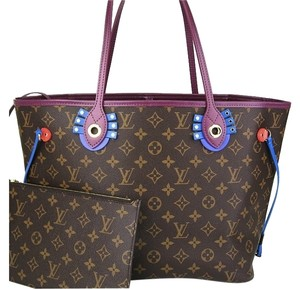 Louis Vuitton Neverfull Mm Tote in Totem Tribal Monogram