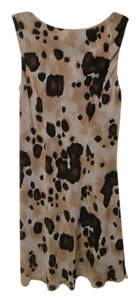 Tessuto Menswear short dress leophard print on Tradesy