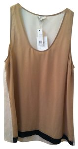 Joie Top Tan Black Cream