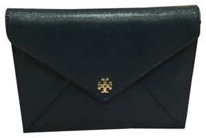 Tory Burch Navy Blue Clutch