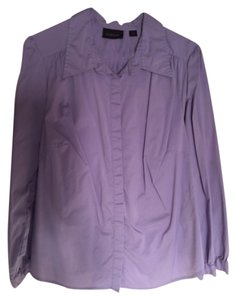 Avenue Button Down Shirt Lavender