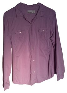 Old Navy Button Down Shirt Lavender