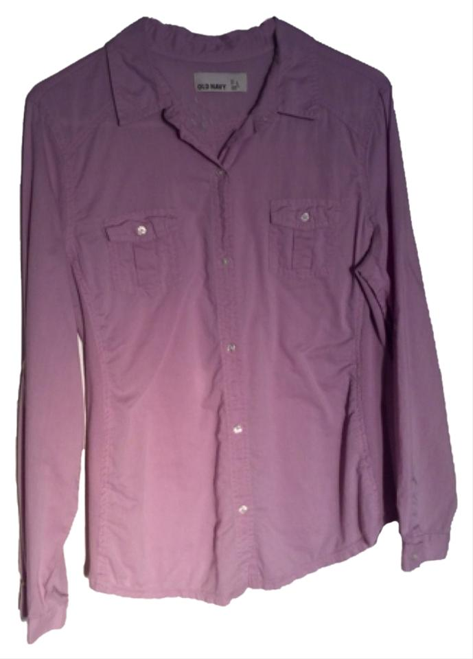 f7ded34a6b Old Navy Lavender Button-down Top Size 12 (L) - Tradesy