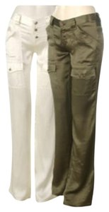 Joie So Real Silk Casual Junior Ladies Size 24 Junior Size 1 Color 31.5 Inch Long Inseam. Anthropologie Cargo Pants Antique White