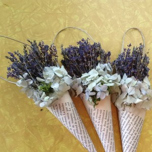 Hanging Dried Lavender Decorations