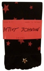 Betsey Johnson Party Star socks